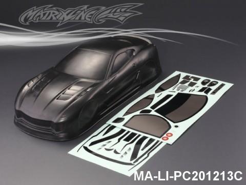 429 FERRARI 599XX CARBON-PRINTING PC Body SHELL MA-LI-PC201213C Transparent