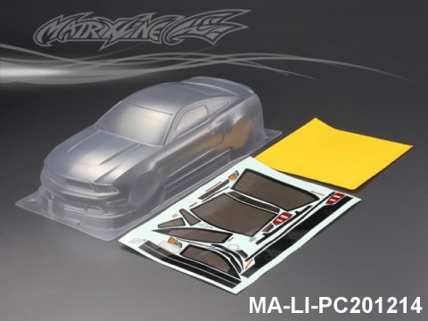 430 FORD MUSTANG BOSS 302 PC Body SHELL MA-LI-PC201214 Transparent