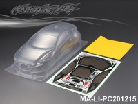 432 HONDA CR-Z PC Body SHELL MA-LI-PC201215 Transparent