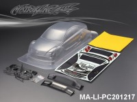 438 BENZ AMG C-COUPE PC Body SHELL MA-LI-PC201217 Transparent