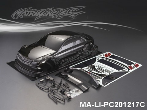 439 BENZ AMG C-COUPE CARBON-PRINTING PC Body SHELL MA-LI-PC201217C Transparent