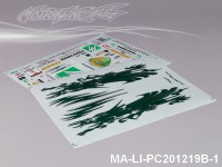 113 RE M7 DECAL SHEET - High Flexible Vinyl Label (Hot Sale) MA-LI-PC201219B-1