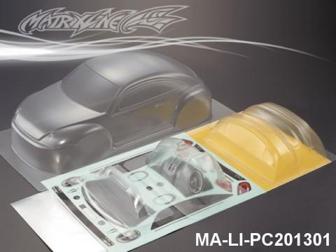 460 VOLKSWAGEN BEETLE PC Body SHELL MA-LI-PC201301 Transparent