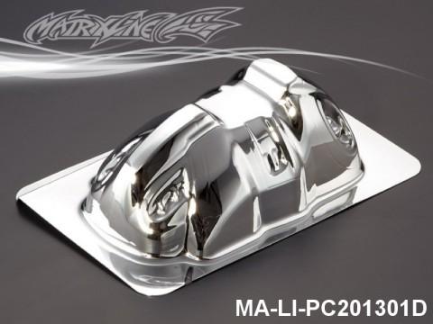 462 ELECTROPLATE D LIGHT BUCKET FOR VOLKSWAGEN BEETLE PC Body SHELL MA-LI-PC201301D Transparent