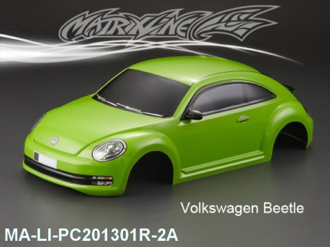 363 VOLKSWAGE N BEETLE Finished PC Body RTR MA-LI-PC201301R-2A Painted