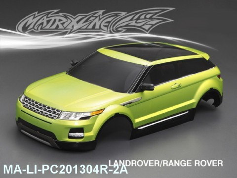 360 LANDROVER- RANGE ROVER Finished PC Body RTR MA-LI-PC201304R-2A Painted