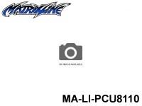 316 Rear Wing Carbon fiber pattern MA-LI-PCU8110 0.9mm-0.035 Polycarbonate (from Japan)