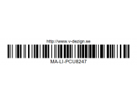 296 Modified Transverse Engine MA-LI-PCU8247 Polycarbonate (from Japan)
