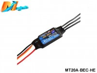 Maytech MT20A‐BEC‐HE Brushless Speed Controller
