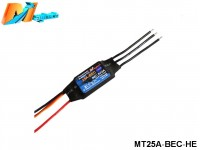 Maytech MT25A‐BEC‐HE Brushless Speed Controller