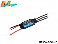 Maytech MT35A‐BEC‐HE Brushless Speed Controller
