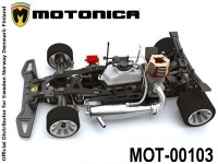 MOT-00103 Motonica KIT P8C, COMPLETE, WITH GEAR DIFFERENTIAL 00103