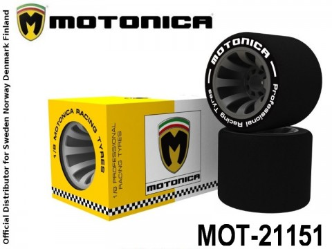 MOT-21151 Motonica TYRES 32 SHORE REAR 1-8 21151