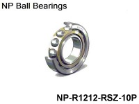 NP Individual Ball Bearings Inch Series Dim. :1/2x3/4 Revolutions NP-R1212-RSZ - 10-Pack