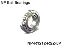 NP Individual Ball Bearings Inch Series Dim. :1/2x3/4 Revolutions NP-R1212-RSZ - 5-Pack