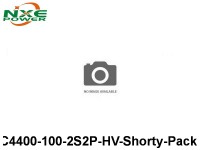 1 NXEC4400-100-2S2P-HV-Shorty-Pack 4400mAh 7.6V