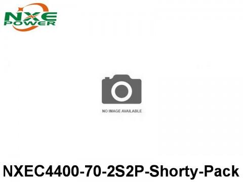 35 NXEC4400-70-2S2P-Shorty-Pack 4400mAh 7.4V