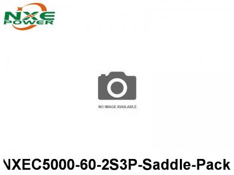 44 NXEC5000-60-2S3P-Saddle-Pack 5000mAh 7.4V