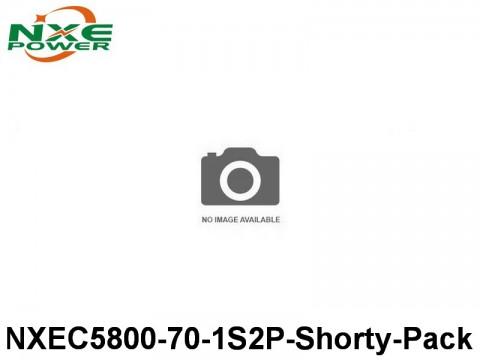 37 NXEC5800-70-1S2P-Shorty-Pack 5800mAh 3.7V