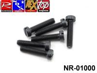 Novarossi NR-01000 Screw set for cylinder head M3,5x16 for 2,5cc-3,5cc