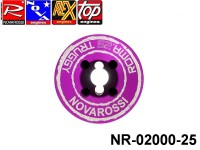 Novarossi NR-02000-25 Truggy Violet Cooling Head 4,04cc 060mm 8Cuttings 9Fins Serigraph ROMA.25