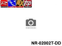 Novarossi NR-02002T-DD Marine Aluminium Round Polished 3,5cc Cooling Head 040mm Serigraph TOP.2l DIRECT DRIVE