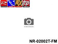 Novarossi NR-02002T-FM Marine Aluminium Round Polished Cooling Head 040mm Serigraph TOP FLASH.2l-M