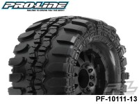 Protoform PF-10111-13 Interco® TSL sx Super Swamper® 3.8 All Terrain Tires Mounted on F-11 Black 1-2 Offset 17mm Wheels 2 for 17mm MT Front or Rear