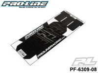 Protoform PF-6309-08 Pro-Line Black Chassis Protector for B64
