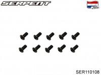 SER110108 Screw Allen Roundhead M3x6 (10)