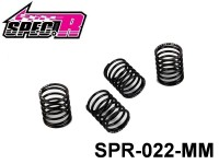 Spec-R 1/10 Mini Touring Shock Spring Set 13X20mm (Middle) SPR022-MM