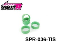 Spec-R 1/10 Mini Touring Tire Insert (Green - Soft) SPR036-TIS