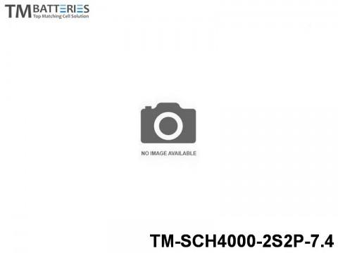 29 TM-Batteries Car LIPO TM-SCH4000-2S2P-7.4 2S2P
