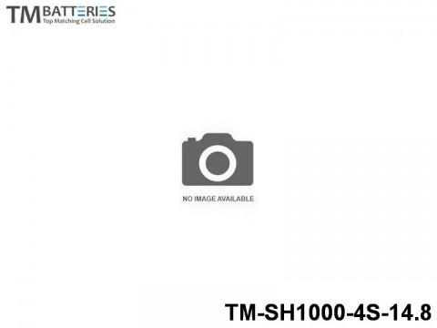 4 TM-Batteries FPV LIPO TM-SH1000-4S-14.8 4S
