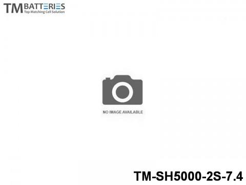 130 TM-Batteries Airplane LIPO TM-SH5000-2S-7.4 2S