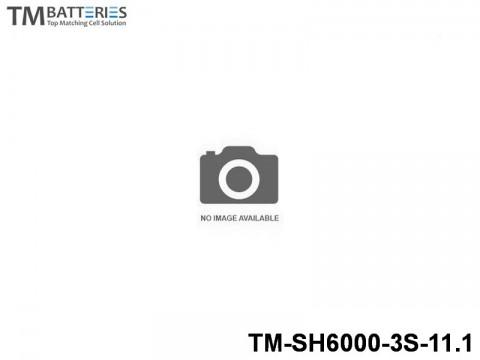 136 TM-Batteries Airplane LIPO TM-SH6000-3S-11.1 3S