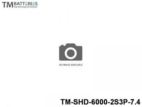 36 TM-Batteries Car LIPO TM-SHD-6000-2S3P-7.4 2S3P