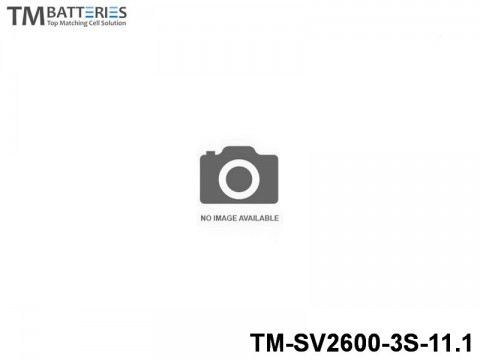 94 TM-Batteries Airplane LIPO TM-SV2600-3S-11.1 3S