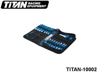 TITAN-10002 TiTAN Tool Bag with Tool Set 10001+ 10000 (16pcs, not included arm reamer)+ 15001+ 15002+ 15004 Color: Blue -Black