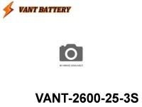 VANT-Battery 25C Series 20 - VANT-2600-25 11.1V