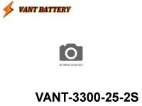 VANT-Battery 25C Series 24 - VANT-3300-25 7.4V